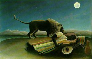 The Sleeping Gypsy, Moma NY