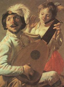 the duet, louvre