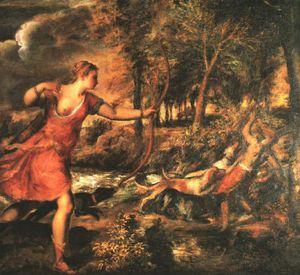 Death of actaeon, ng london