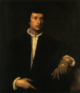 Mannen med handsken louvre