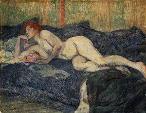 Reclining nude, Barnes foundation