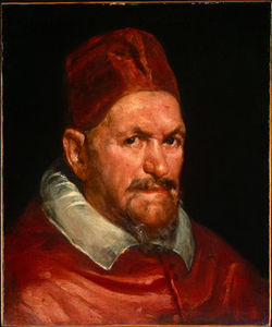 Circle of) pope innocent x, c. ngw