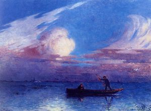 Boating at Night in Briere