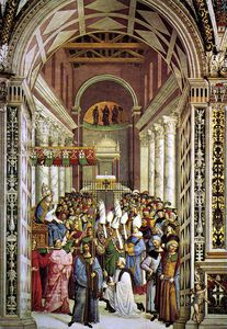 Aeneas Piccolomini Crowned as Pope