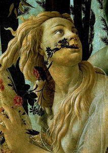La Primavera, Allegory of Spring (detail)