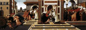 Last Miracle and the Death of St Zenobius