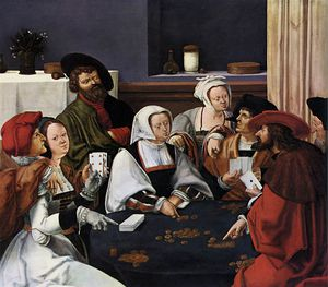 Paintings-Card Players