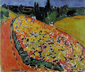 The hills at Rueil, Musee d'Orsay, Paris