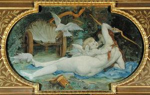 Venus Jouant avec L-Amour