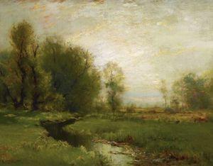 A Stream Through the Meadow