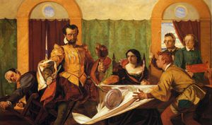 The Dinner Scene from - The Taming of the Shrew-