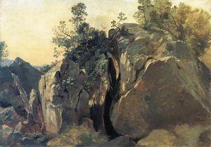 Cliffs at Olevano