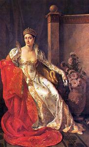 Portrait of Elisa Bonaparte - Grand Duchess of Tuscany