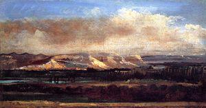 The Saleve Cliffs near Geneva