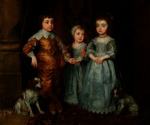 The Three Eldest Children of King Charles I