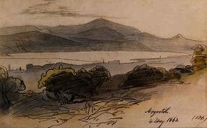View of argostoli, greece