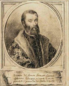 Portrait of sperone speroni, after titian