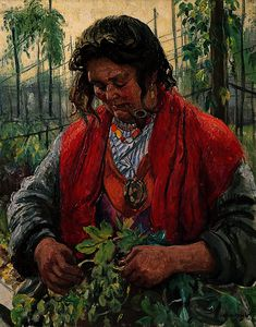 Hop-Picking Granny Knowles, an Old Hand