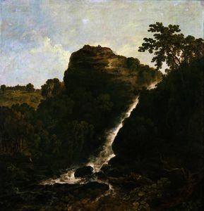 Lydford waterfall, tavistock