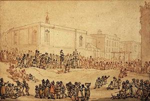 Execution at newgate