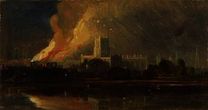Bristol Riots - The Burning of the Bishop's Palace