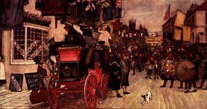The Election Parade at Eatanswill