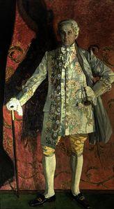 Ritratto dmitry smirnov come chevalier des grieux