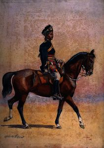 Soldier of the 12th Cavalry