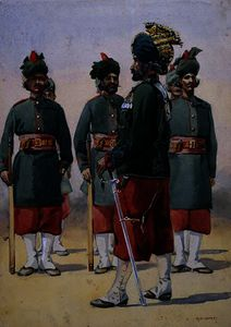 Soldiers of the 127th Queen Mary's Own Baluch
