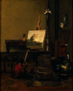 The painter's monkey