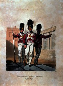 Grenadiers of the Foot Guards in Full Dress