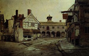 Market place, hereford,
