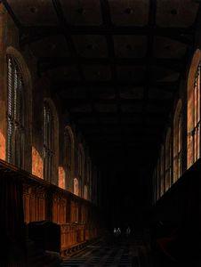 Interior of Trinity College Chapel