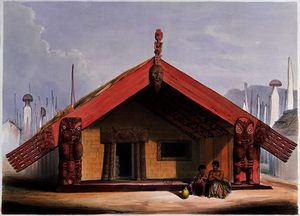 Maori food storehouse