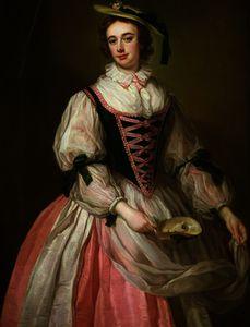Portrait of Frances Macartney, c.1745