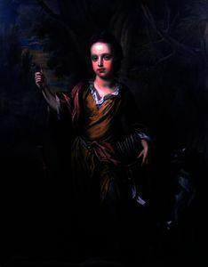 Portrait of David Papillon )