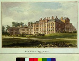South East View of Kensington Palace,