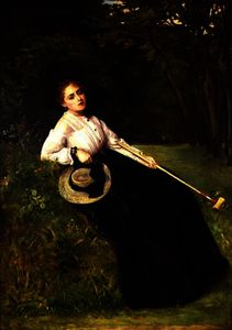 Resting in the Shade after a Game of Croquet