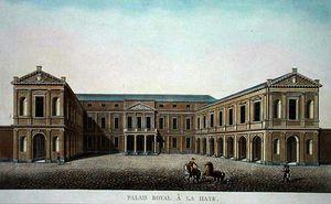 Palais royal, the hague
