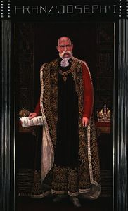 Emperor Franz Joseph I of Austria wearing the