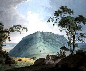 South East View of Hill Fort of Bijaigaih, Bihar