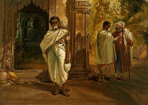 Jain priests