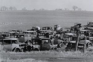 Joe's auto graveyard, pennsylvania