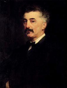 Portrait of a p a chikhachev