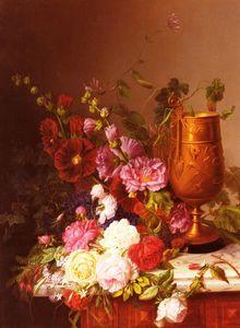 Arranging the bouquet