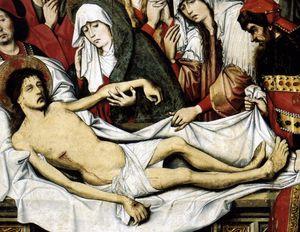 Entombment of Christ (detail)