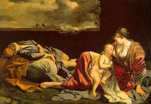 Gentileschi, Orazio (Orazio Lomi, Italian, approx. (1563-1639) ogentileschi)