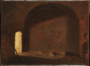 Study of Light in a Vaulted Interior