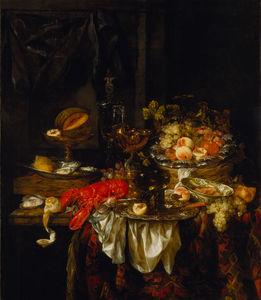 Banquet (1667) (141 x 122) (Los Angeles, LACMA)