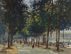Corner of the Champs Elysees